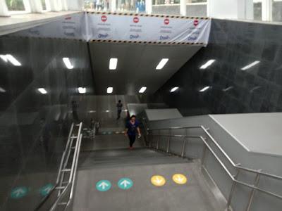 stasiun MRT HI bawah tanah