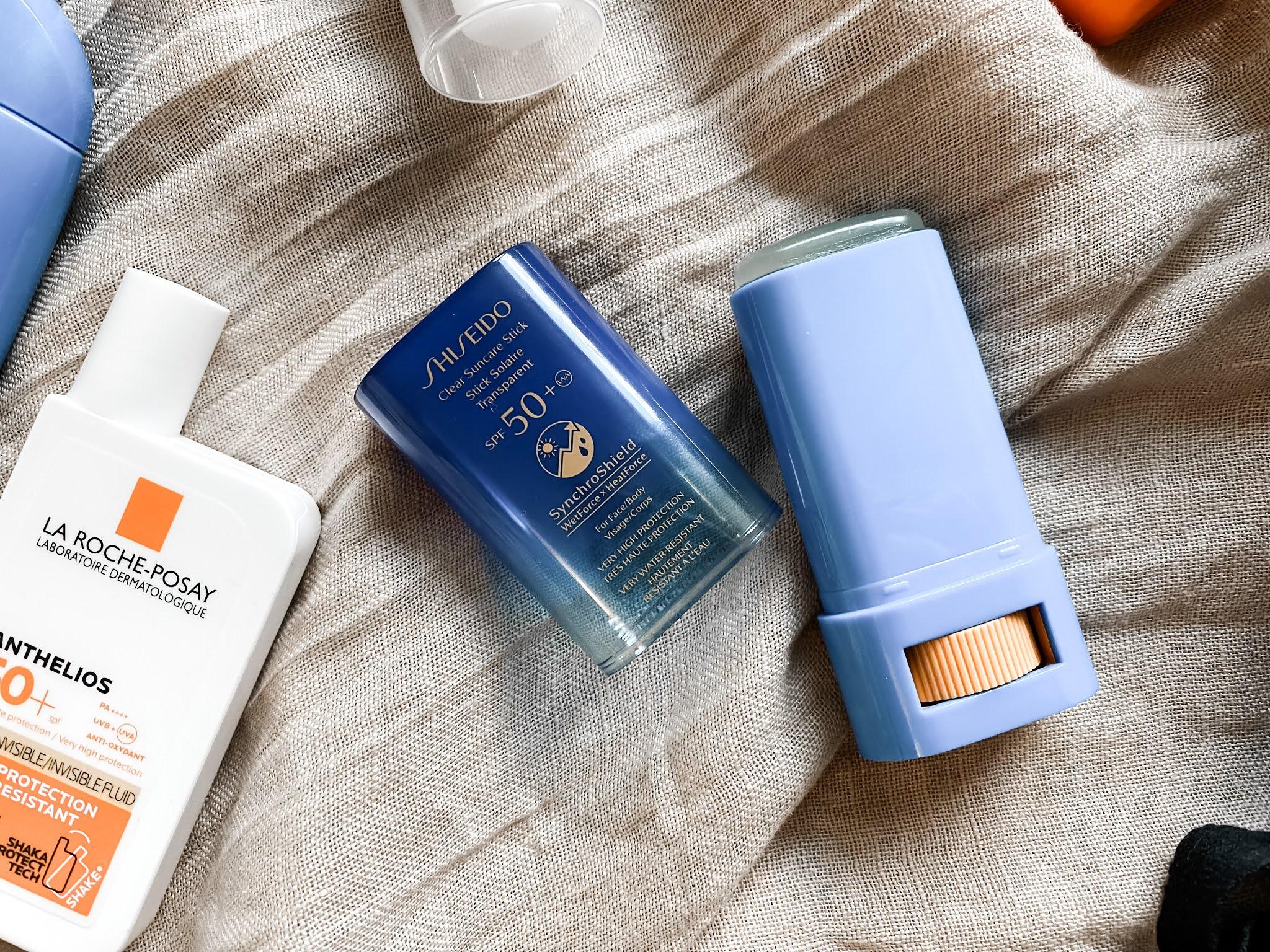 Shiseido Stick Summer Skincare Facial SPF Sunscreen Products