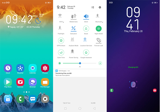 Oppo Theme: Oppo A3s Samsung One Theme