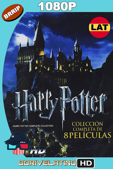 Harry Potter (2001-2011) Colección BRRip 1080p Latino-Ingles MKV