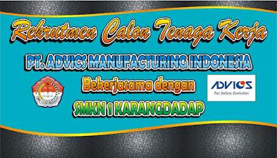 Rekrutmen Calon Tenaga Kerja PT.Advics Manufacturing Indonesia
