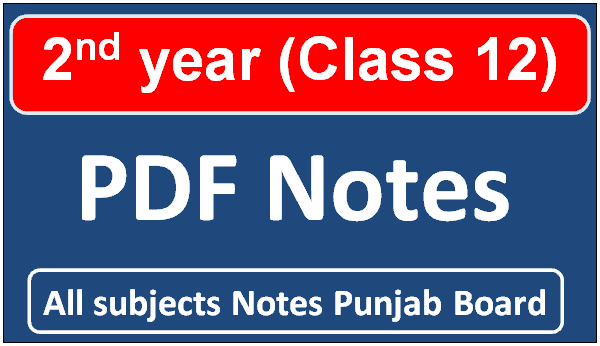 2nd year notes pdf