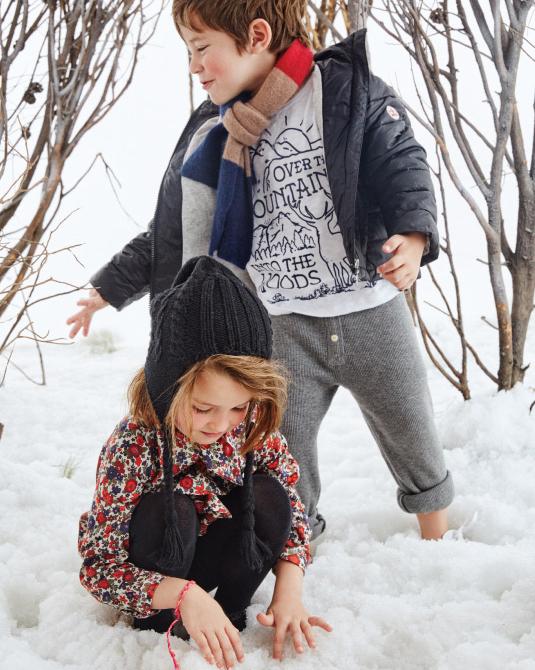 Moda niños y niñas invierno 2017.