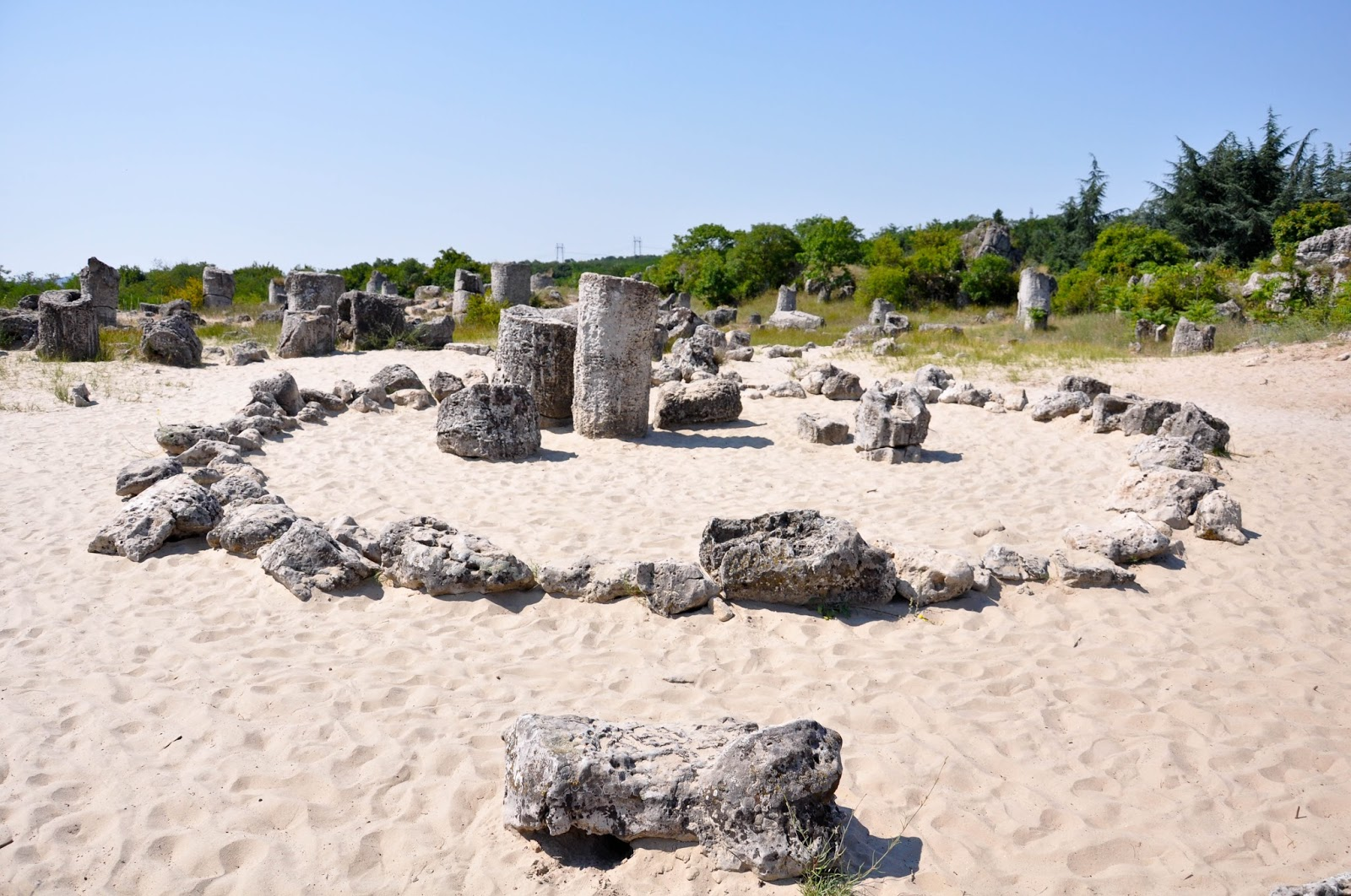 The Magic Circle, The Stone Forest, Varna, Bulgaria