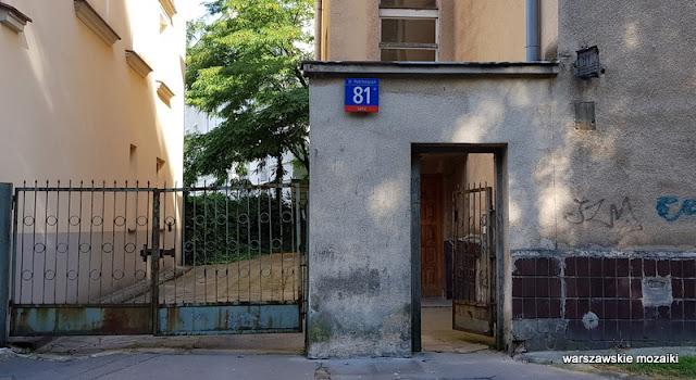 Warszawa Warsaw Mokotów Śródmieście warszawskie ulice architektura architecture kamienica kamienice lata 30