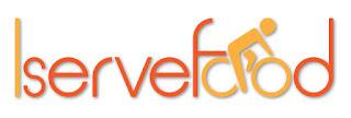 Iservefood logo on white background