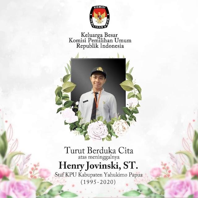 Selamat Jalan Pahlawan Demokrasi Henry Jovinski, ST.