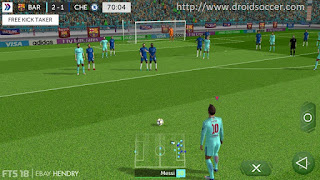 First Touch Soccer 2018 HD by ‎Ebay Hendry Android