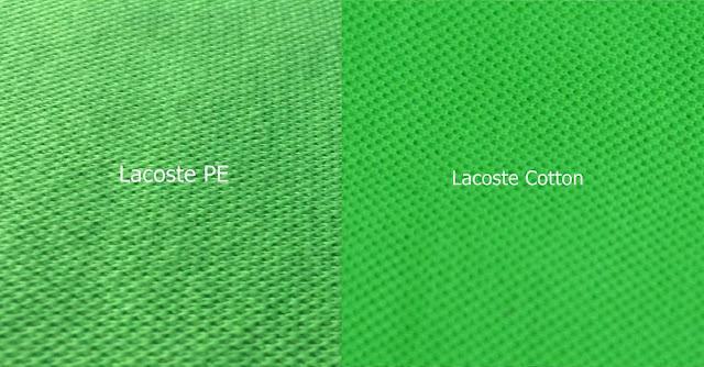 Inilah Perbedaan Bahan Lacoste Cotton Dan Lacoste PE