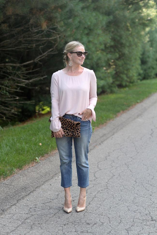 pleione top, crop jeans