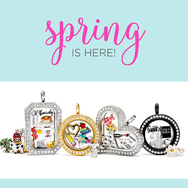 Origami Owl New Spring 2017 Collection is Here! Shop it all at StoriedCharms.com