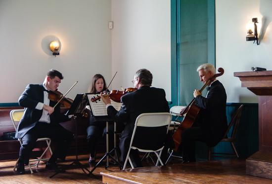 Gyros String Quartet at Dallas Heritage Village