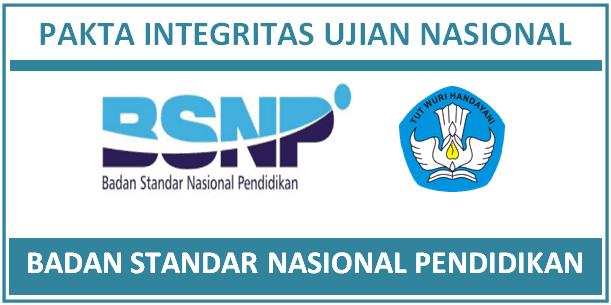 Peraturan Mengenai Prosedur Operasional Standar (POS) Penyelenggaraan Ujian Nasional