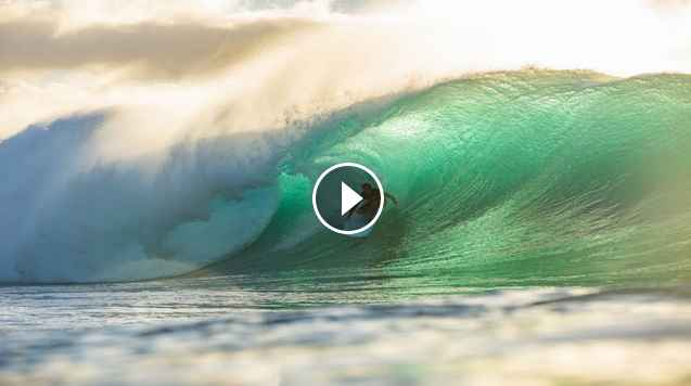 SOFTOP SURFING PERFECT PIPELINE WITH ROMAN ATWOOD