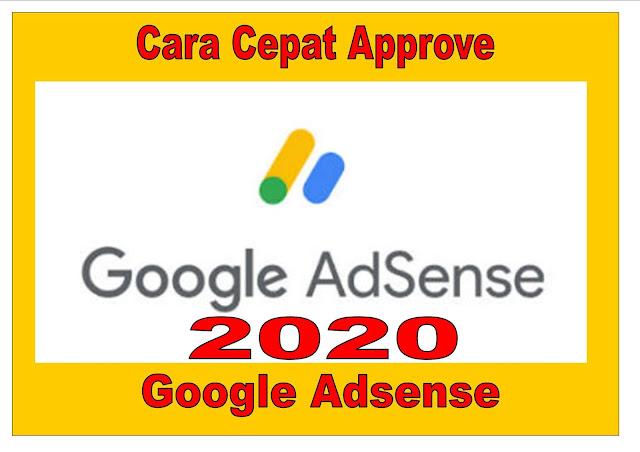 Cara Cepat Approve Google Adsense