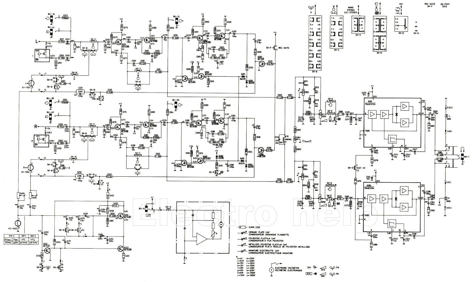 philips radio diagram