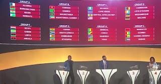 قرعة تصفيات كأس العالم 2022 إفريقيا:مصر فى المجموعة السادسة