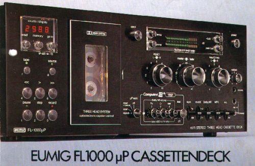 Computer Compatible Cassette Deck