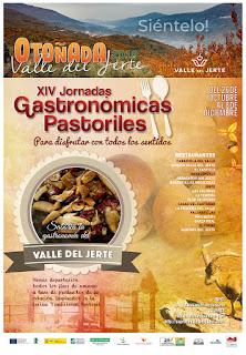 """XIV JORNADAS GASTRONÓMICAS PASTORILES """"Sabores de otoño""""."""