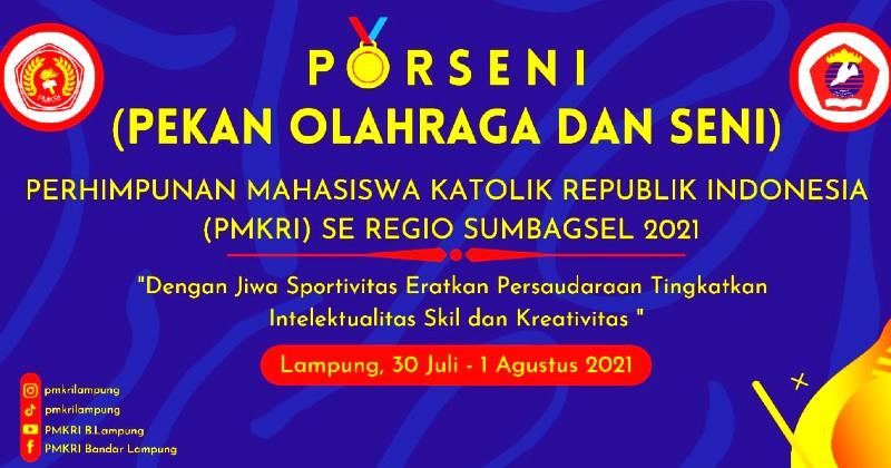 PMKRI Bandar Lampung Gelar Kegiatan Porseni untuk Regio Sumatera Bagian Selatan