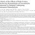 Efeitos de refeições com alto teor de proteínas durante a hemodiálise na hipotensão intradialítica