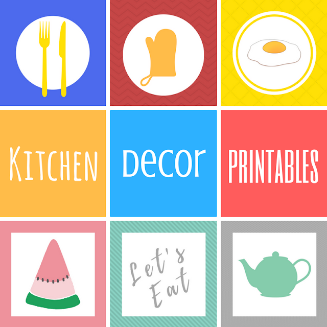 Kitchen Decor Free Printables