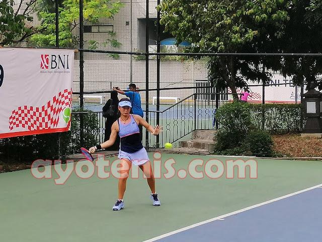 Priska Kembali Bikin Kejutan, Libas Unggulan 6 dan Pastikan Diri Maju ke Semifinal Tennis Open di Jakarta