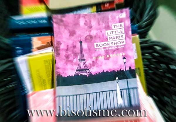 Review buku Nina George The Little Paris Bookshop Toko Buku Kecil di Paris