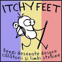 ITCHY FEET in Romanian!