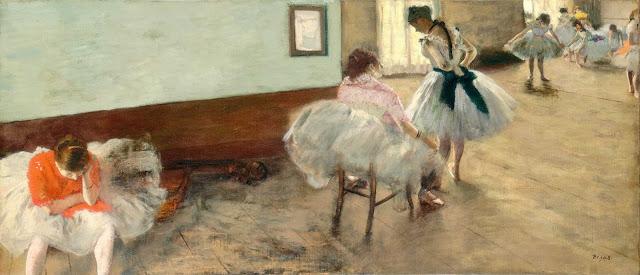 Эдгар Дега - Урок танца (ок.1874)