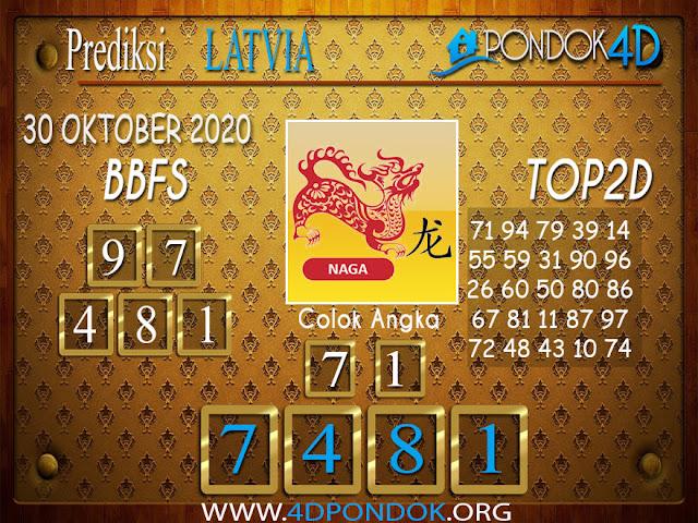 Prediksi Togel LATVIA PONDOK4D 30 OKTOBER 2020