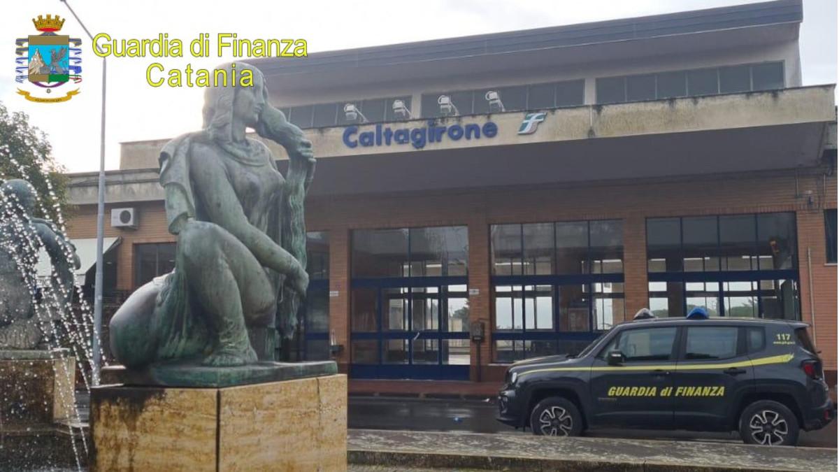 Guardia di Finanza, Stazione centrale Caltagirone alternativo
