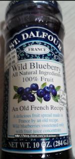 St. Dalfour, Wild Blueberry, Deluxe Wild Blueberry Spread, 10 oz (284 g)