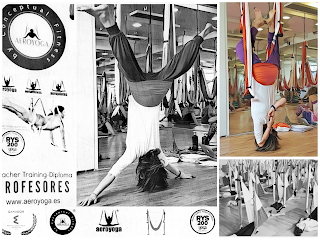 AEROYOGA® Y AEROPILATES® BY RAFAEL MARTINEZ, yoga aereo, pilates aereo, cursos, formacion, airyoga, swing, yoga, ejercicio, salud, acreditacion, teacher training, trapeze, gravity, asociacion nacional
