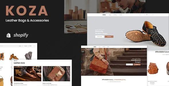 Best Leather Market Shopify Theme