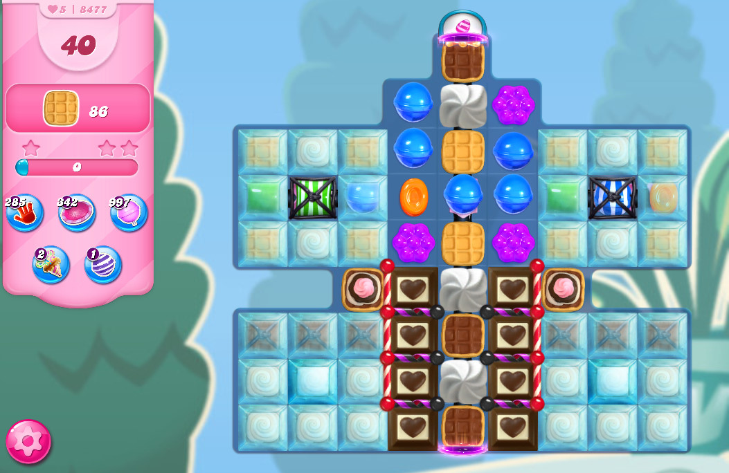 Candy Crush Saga level 8477