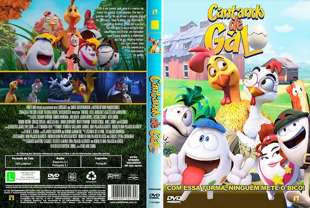 Capa DVD Cantando De Galo