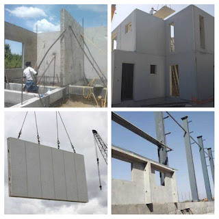 Prefabrication element installation