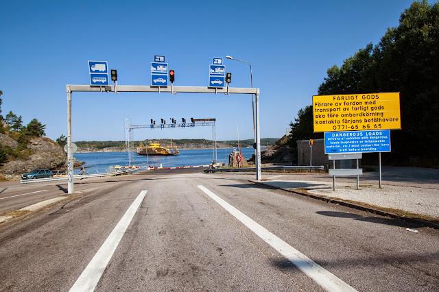 Traghetto sulla strada per Lysekil