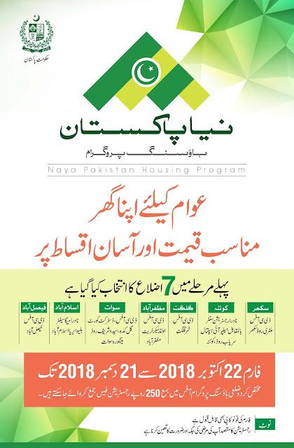 Download Application Form of Naya Pakistan Program 2018