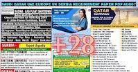 Saudi Qatar UAE Europe Requirement Paper PDF Aug07