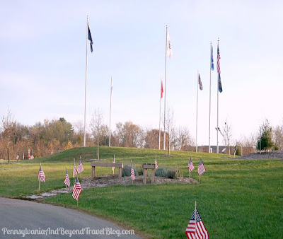 Captain Leon Lock Veterans Memorial at Hampden Township Veterans Park in Enola Pennsylvania