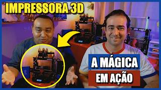 Minha primeira experiência com impressora 3D