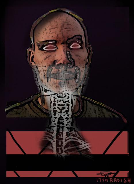 self portrait derrick g wood art weird strange bizarre dark spine