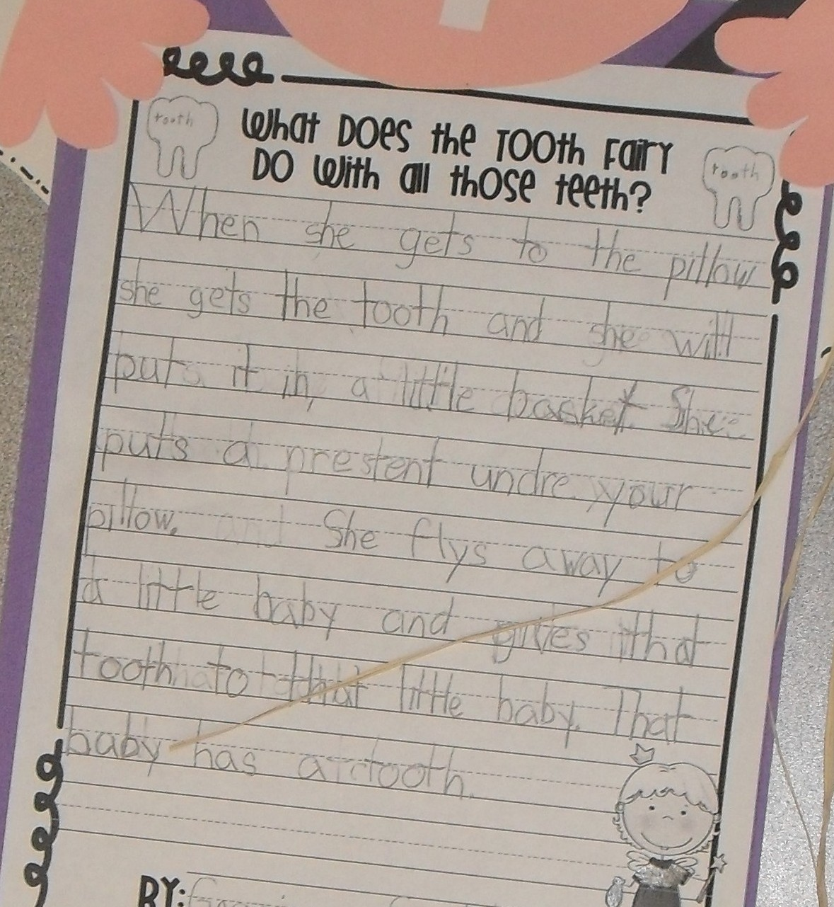 """First Grade Fever! By Christie Now This Is Some """"tooth"""