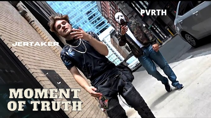 Jertaker releases 'Moment of Truth'  (Music Video) feat. PVRTH