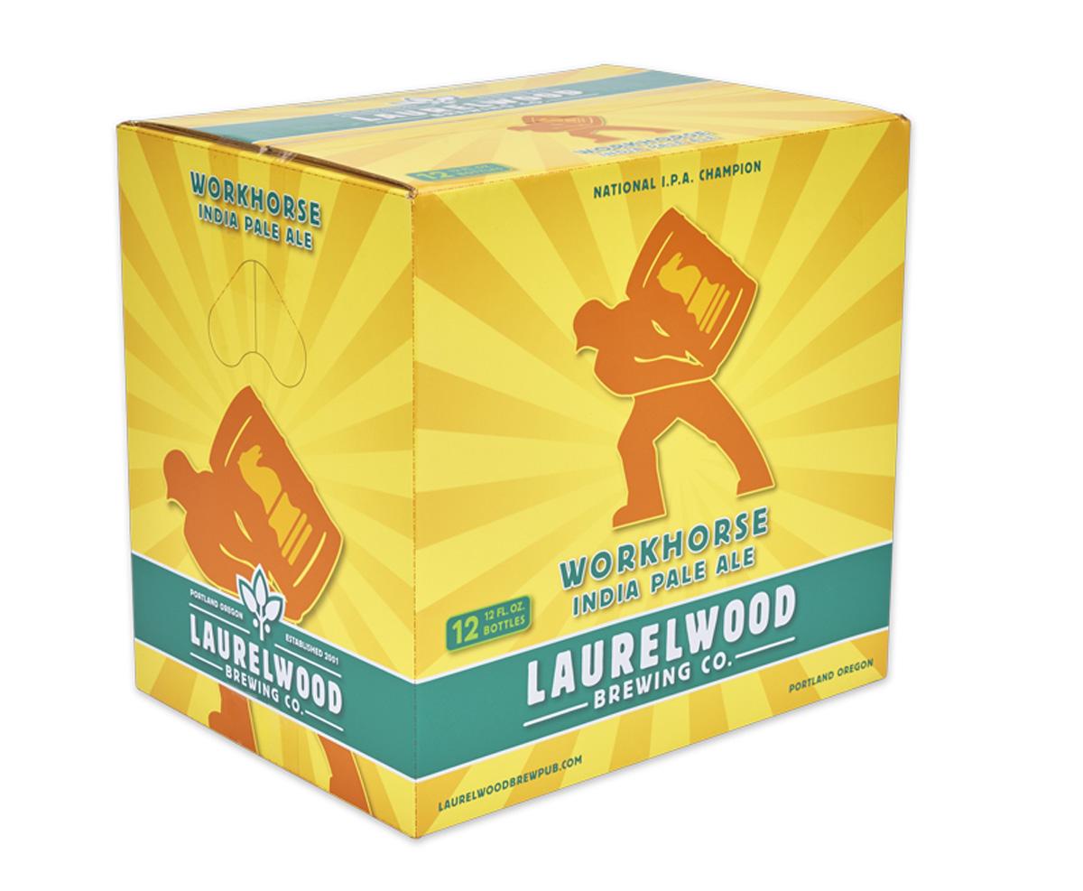 Beervana buzz laurelwood launches workhorse 12 packs for Laurelwood