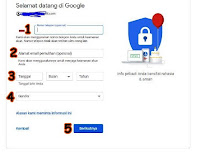 Cara Membuat Email Gmail Baru Lewat Laptop/PC dan di HP
