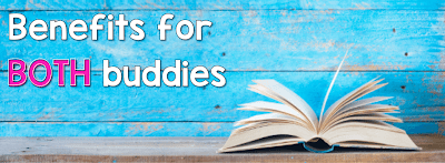 Reading Buddies is an effective program that promotes reading fluency and comprehension through authentic practice. Read on to find out the benefits of buddy reading that go beyond the literacy development of students. #thereadingroundup #buddyreading
