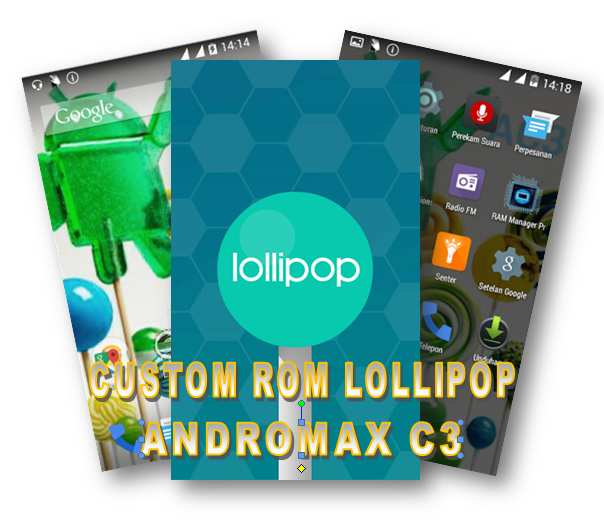 Lollipop for Adromax C3